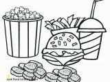 Coloring Pages Of Fast Food Junk Food Coloring Pages Healthy Coloring Pages Meat Coloring Pages