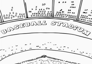 Coloring Pages Of Fields Baseball Field Coloring Pages Awesome Picture Baseball Bat and Ball