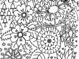 Coloring Pages Of Flowers for Teenagers Difficult Free Difficult Flower Coloring Pages Download Free Clip