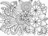 Coloring Pages Of Flowers for Teenagers Difficult Very Detailed Flowers Coloring Pages for Adults Hard to