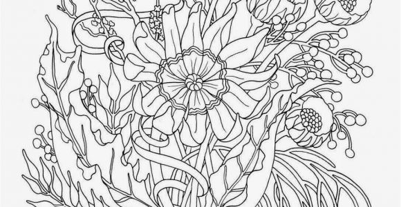 Coloring Pages Of Flowers Printable Coloring Pages Flowers for Teens