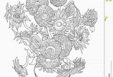 Coloring Pages Of Flowers Printable Flower Coloring Sheets for Preschoolers Di 2020 Dengan Gambar