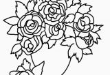 Coloring Pages Of Flowers Printable Printable Easy Coloring Pages In 2020