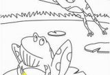 Coloring Pages Of Frogs and Lilypads Coloring Pages Of Around the Pond