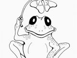 Coloring Pages Of Frogs and Lilypads Frogs Coloring Pages Elegant Printable Frog & Clover Coloring Page