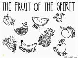 Coloring Pages Of Fruit Of the Spirit Fruit Of the Spirit Free Coloring Page – His Kids Pany