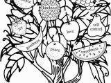 Coloring Pages Of Fruit Of the Spirit Fruit the Spirit Coloring Page