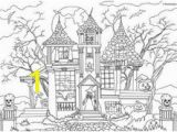Coloring Pages Of Haunted Houses 92 Best Art Images On Pinterest In 2018