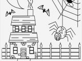 Coloring Pages Of Haunted Houses ▷ Free Collection 20 Awesome Haunted House Coloring Decoration