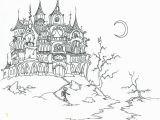 Coloring Pages Of Haunted Houses Adult Vampire Coloring Pages