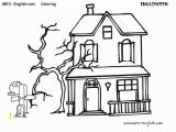Coloring Pages Of Haunted Houses Free Halloween Coloring Pages for Kids
