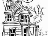 Coloring Pages Of Haunted Houses Haunted House Coloring Page Clipart Panda Free Clipart Big Creepy