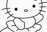 Coloring Pages Of Hello Kitty Coloring Flowers Hello Kitty In 2020