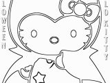 Coloring Pages Of Hello Kitty Halloween Hello Kitty Halloween Coloring Pages