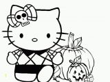 Coloring Pages Of Hello Kitty Halloween Spooky Halloween with Hello Kitty Coloring Page Halloween
