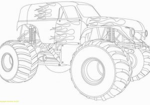 Coloring Pages Of Huge Monster Trucks √ Monster Truck Printable Coloring Pages Elegant Coloring Pages