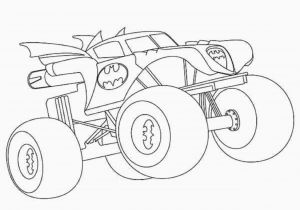 Coloring Pages Of Huge Monster Trucks Batman Monster Truck Coloring Pages Coloring Chrsistmas