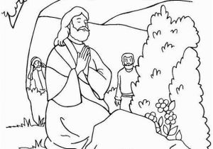 Coloring Pages Of Jesus Praying In the Garden 26 New Praying Coloring Pages Concept