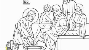 Coloring Pages Of Jesus Washing His Disciples Feet Coloring Pages Jesus Washing His Disciples Feet Unique attractive