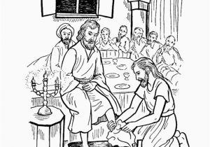Coloring Pages Of Jesus Washing His Disciples Feet Jesus Face Coloring Page Elegant Jesus Coloring Pages for Kids