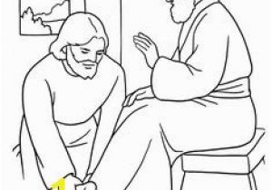 Coloring Pages Of Jesus Washing His Disciples Feet the Golden Calf Exodus 32 Ten Mandments Pinterest