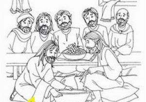 Coloring Pages Of Jesus Washing His Disciples Feet the Servant King Sheet Easter Pinterest