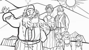 Coloring Pages Of Job S Story the Story Of Job Coloring Sunday School Activities
