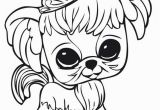 Coloring Pages Of Littlest Pet Shop Dogs Littlest Pet Shop Dog with Crown