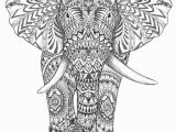 Coloring Pages Of Living Room Aztec Elephant Hand Drawing Detail Graphic Art Hand