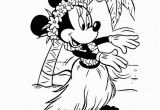 Coloring Pages Of Luau Coloriage € Imprimer Minnie 13 Satisfaisant Coloriage €