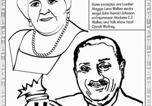 Coloring Pages Of Madam Cj Walker Black History Coloring Pages Madame C J Walker John