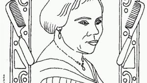 Coloring Pages Of Madam Cj Walker Madam Cj Walker Coloring Page Coloring Home