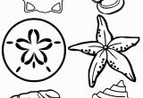Coloring Pages Of Marines Free Printable Seashell Coloring Pages for Kids