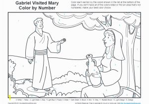Coloring Pages Of Mary and the Angel Gabriel Bible Coloring Pages for Kids