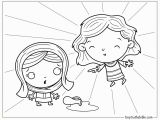Coloring Pages Of Mary and the Angel Gabriel the Christmas Story Mary and the Angel Gabriel