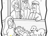 Coloring Pages Of Mary Joseph and Baby Jesus 30 Best Nativity Coloring Pages Images