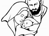 Coloring Pages Of Mary Joseph and Baby Jesus Christmas Bible Page Mary Joseph and Jesus