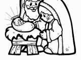 Coloring Pages Of Mary Joseph and Baby Jesus Days Of Christmas Coloring