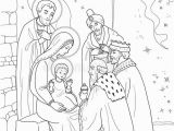 Coloring Pages Of Mary Joseph and Baby Jesus Jesus Mary Joseph Black White Stock Illustrations – 154