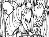 Coloring Pages Of Miriam and Baby Moses Baby Moses Coloring Page