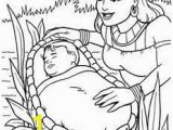 Coloring Pages Of Miriam and Baby Moses Precious Moments Miriam and Moses Coloring Google Search