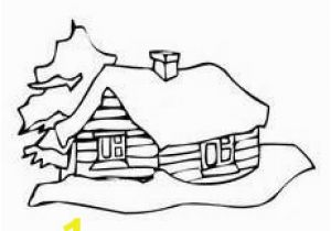 Coloring Pages Of Mittens and Gloves Log Cabins Coloring Pages Happy Log Cabin Day Pinterest