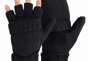 Coloring Pages Of Mittens and Gloves Omechy Winter Knitted Fingerless Gloves thermal Insulation Warm