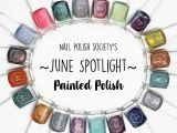 Coloring Pages Of Nail Polish Nail Polish society Nail Polish society S June Spotlight