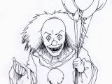 Coloring Pages Of Pennywise the Clown Evil Clown Drawings Google Search Tattoos Pinterest