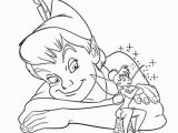 Coloring Pages Of Peter Pan and Tinkerbell Free Printable Disney Tinkerbell Coloring Pages