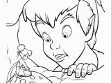 Coloring Pages Of Peter Pan and Tinkerbell Peterpan In Return to Neverland Coloring Pages