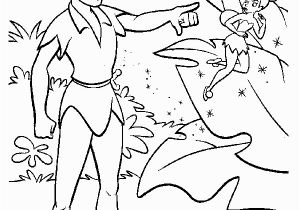 Coloring Pages Of Peter Pan and Tinkerbell Tinkerbell Coloring Pages