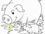 Coloring Pages Of Pigs and Piglets Cat Color Pages Printable