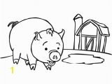 Coloring Pages Of Pigs and Piglets Three Little Pigs Coloring Page Eskayalitim